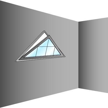 Schéma de fenêtre triangulaire