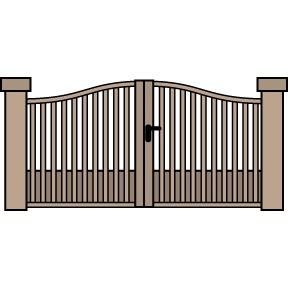 formes de votre portail 7 formes de portail. Black Bedroom Furniture Sets. Home Design Ideas