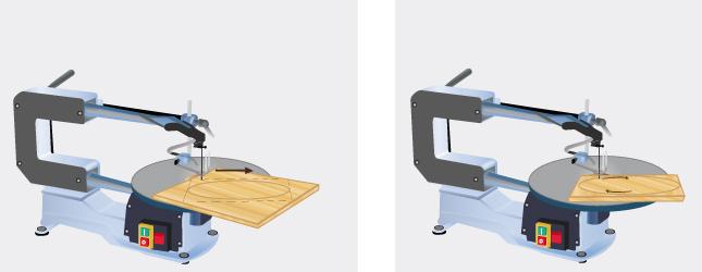 scie electrique coupe bois