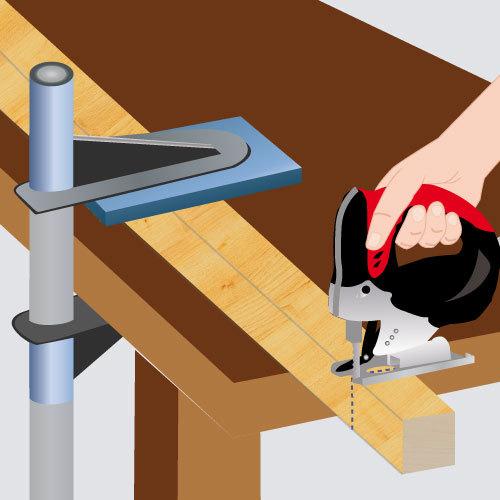 Utiliser une scie sauteuse scie for Utiliser une scie sauteuse