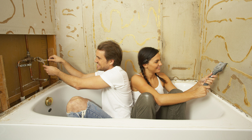 cr dit travaux pour votre salle de bain ooreka. Black Bedroom Furniture Sets. Home Design Ideas