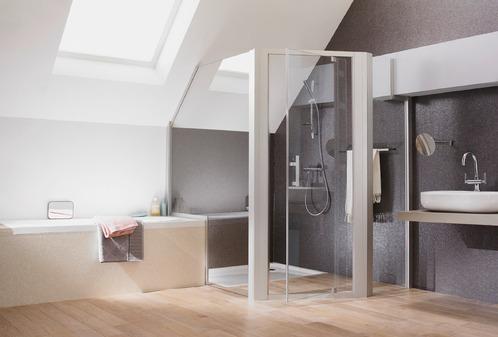 Salle de bain douche classique l 39 italienne ou for Plan salle de bain douche italienne