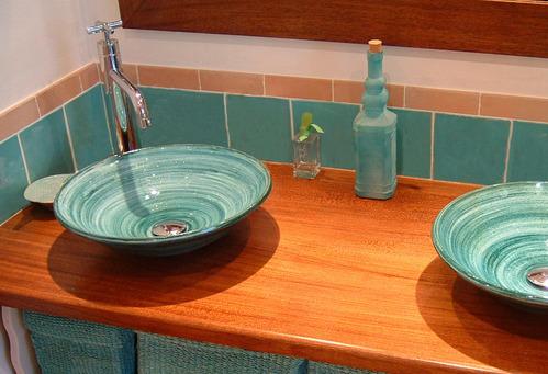 Vasque lave émaillée