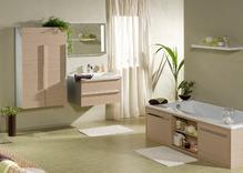 Jonc de mer dans une salle de bain pose ooreka - Moquette pour salle de bain ...