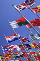 Drapeaux différents pays