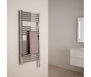 radiateur sche serviette en acier finition chrom boitier lectrique ce et class 2 finition - Seche Serviette Orizontale Argeant