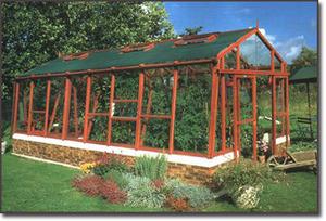 serre en bois tout sur les serres de jardin bois. Black Bedroom Furniture Sets. Home Design Ideas