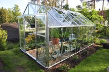 Ventilation de la serre de jardin