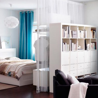 6 id es d co pour s parer sans cloisonner ooreka. Black Bedroom Furniture Sets. Home Design Ideas