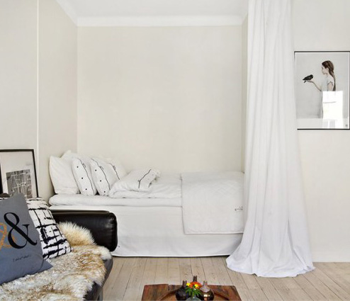 6 id es d co pour s parer sans cloisonner ooreka. Black Bedroom Furniture Sets. Home Design Ideas
