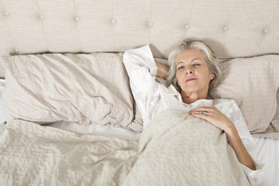 Le sommeil d'une personne âgée