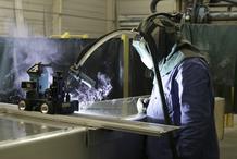 Ouvrier soudure semi automatique