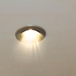 L'éclairage de la douche
