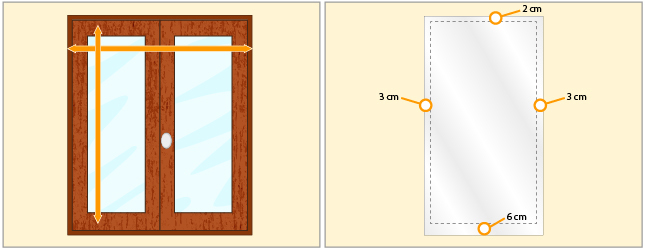 Calculez le métrage de tissu