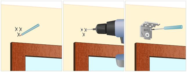 installer un store v nitien store. Black Bedroom Furniture Sets. Home Design Ideas