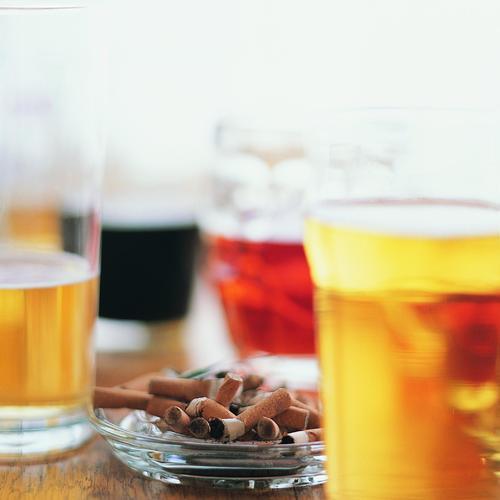 10. Évitez les tentations: alcool, tabac, etc.