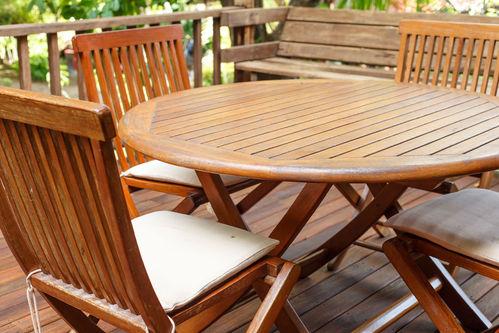 Salon de jardin teck : critères de choix, entretien, prix ...