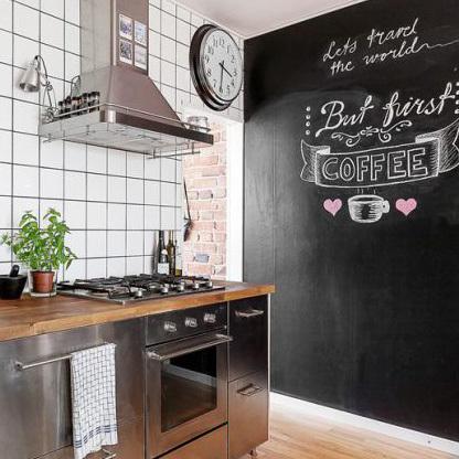 Relooker une cuisine 8 astuces ooreka for Peindre mur cuisine