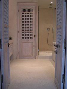 le tadelakt dans la salle de bain - Tadelakt Salle De Bain Sur Carrelage