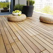 Construire Une Terrasse En Lames De Bois Sur Plots