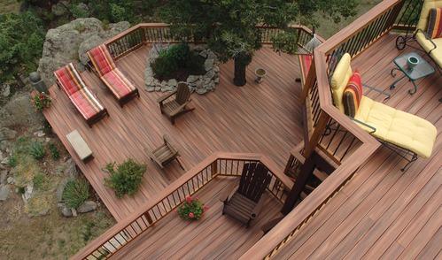 Terrasse en bois infos et conseils sur la terrasse bois - Plan pour terrasse exterieur ...