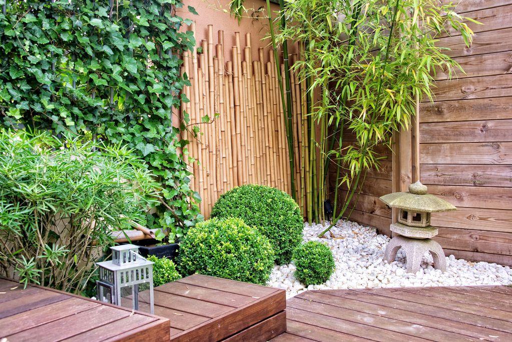 Terrasse japonaise que faire pour bien l 39 am nager ooreka for Accessoire jardin japonais
