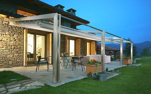 pergolas pour terrasse mat riaux et prix des pergolas pour terrasse. Black Bedroom Furniture Sets. Home Design Ideas