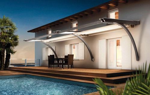 Toile terrasse mati res et prix de la toile pour terrasse for Comment couvrir une pergola