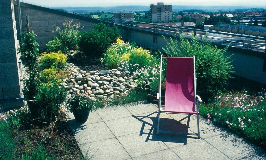 Préférence Toiture terrasse : caractéristiques et conseils - Ooreka WW49