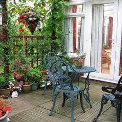 Les plantes pour terrasse ensoleillée