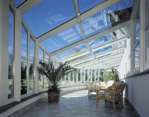 Toiture veranda 4 options principales - Comment nettoyer toit veranda polycarbonate ...