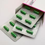 Boite medicaments verts