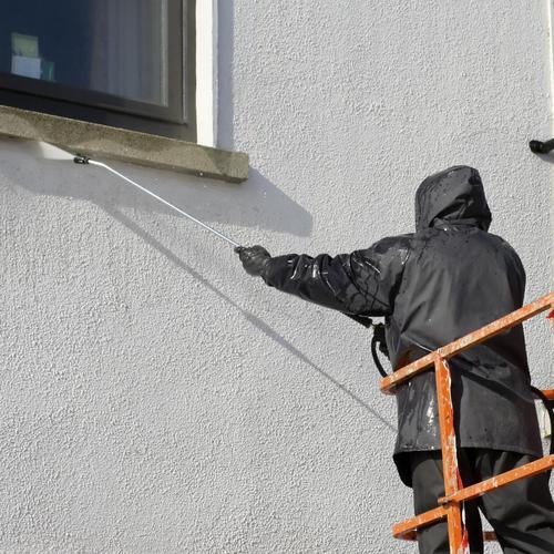 Nettoyage facade toutes les techniques de nettoyage fa ade - Produit pour nettoyer les facades de maison ...