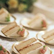 Parts de wedding cake