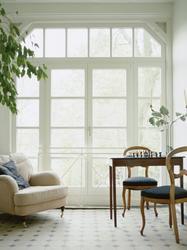 Porte fenêtre triple vitrage bois