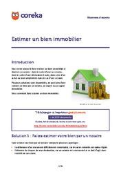 Vendre Son Bien Immobilier T L Chargez Les Fiches Pratiques