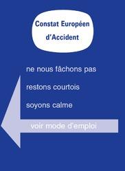 Constat amiable d'accident automobile
