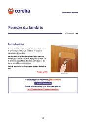 Lambris verni les avantages du vernis pour lambris for Peindre du lambris verni
