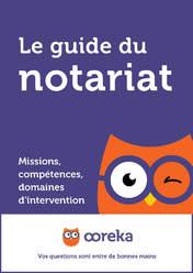 Le guide du notariat