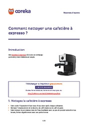 comment nettoyer une cafeti re expresso cafeti re. Black Bedroom Furniture Sets. Home Design Ideas