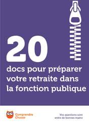 20 Docs Pour Preparer Votre Retraite Dans La Fonction Publique A