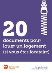 20 documents pour louer un logement si vous tes locataire t l charger gr - Faux document pour louer appartement ...
