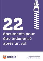 22 documents pour être indemnisé après un vol