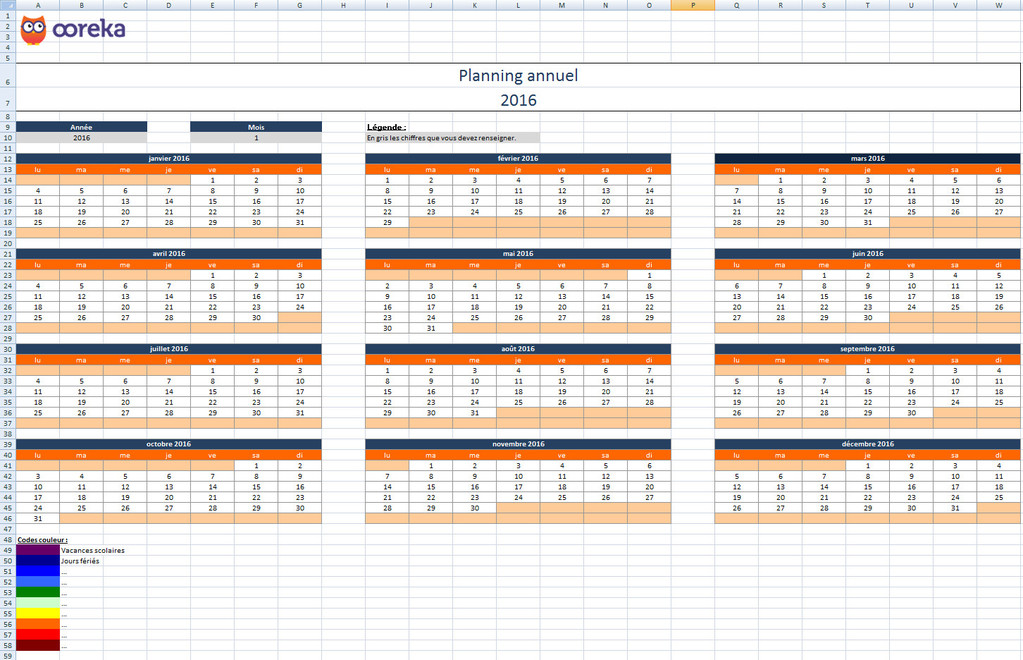 modele planning annuel