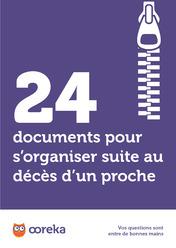 24 Documents Pour S Organiser Suite Au Deces D Un Proche A