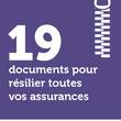 19 documents pour résilier toutes vos assurances