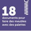 18 documents pour faire des meubles avec des palettes