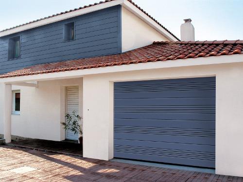 Porte garage coulissante motorisee usage
