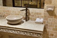 vasque en pierre : modèles et prix - ooreka - Vasque En Pierre Salle De Bain