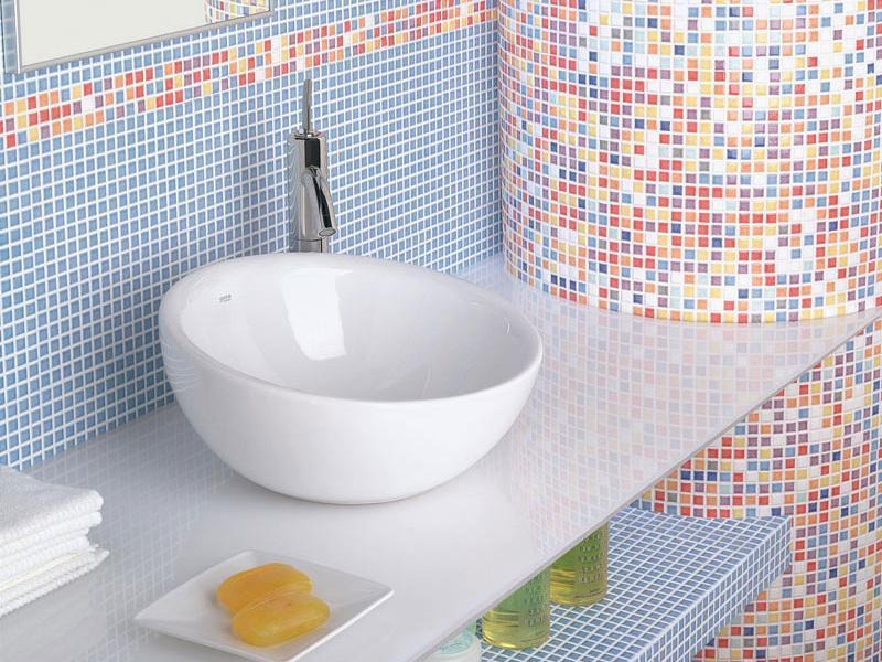 Poser joint carrelage mosaique for Carrelage salle de bain mosaique